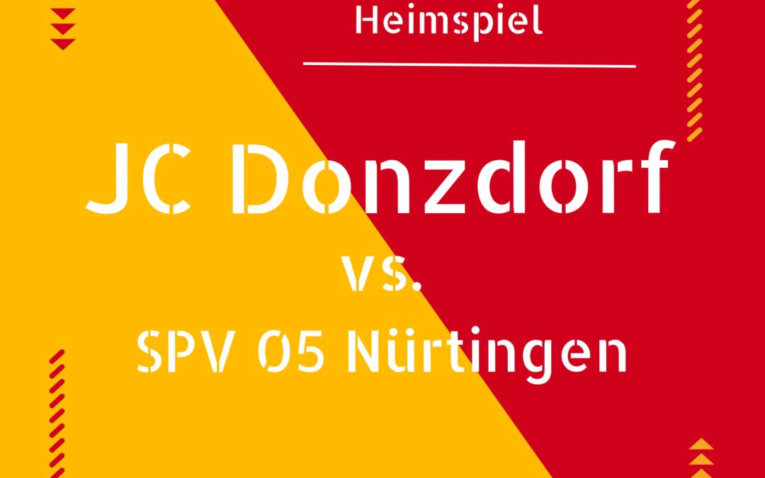 Vorbericht | JC Donzdorf gg. SPV 05 Nürtingen