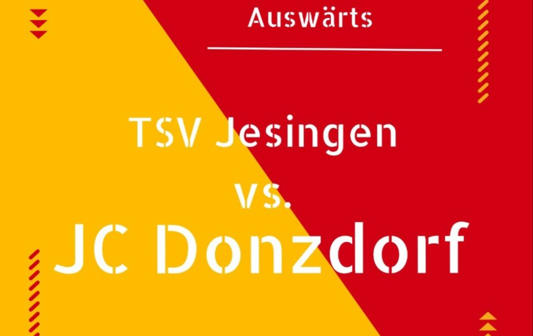Vorbericht | TSV Jesingen gg. JC Donzdorf