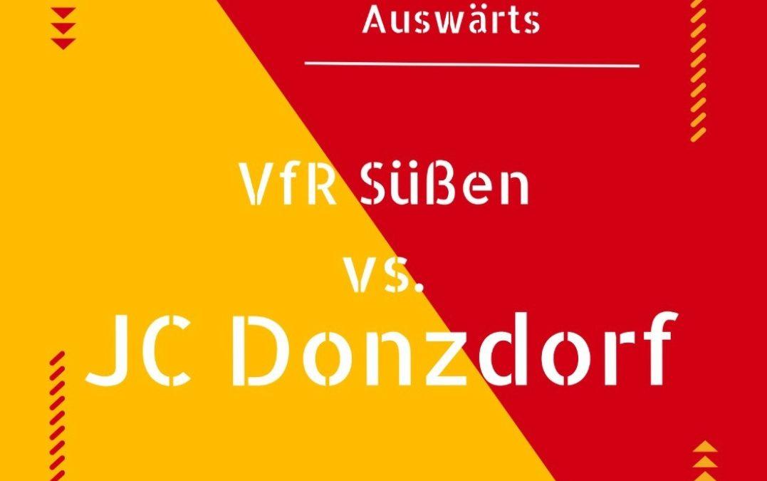 Freundschaftsspiel | VfR Süßen 2:2 JC Donzdorf