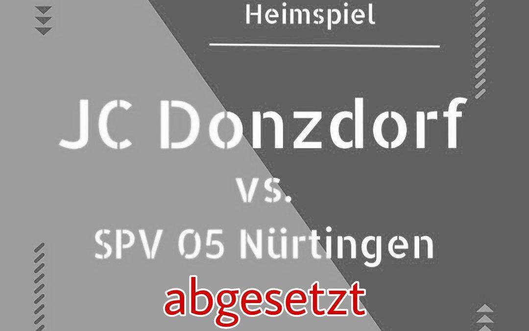 7. Spieltag | JC Donzdorf gg. SPV 05 Nürtingen